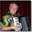 Reini Reiter plays accordion and keys for the Express band